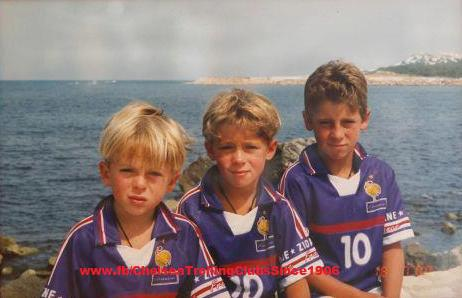 Eden Hazard Young