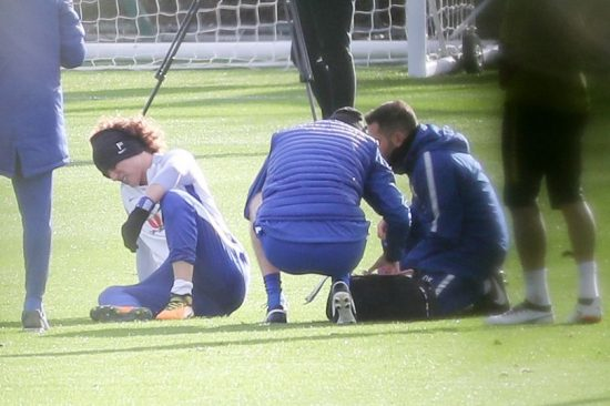 Luiz Injury