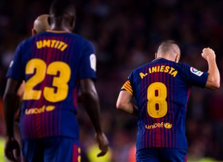Barcelona Iniesta
