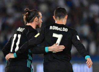 Gareth Bale Cristiano Ronado