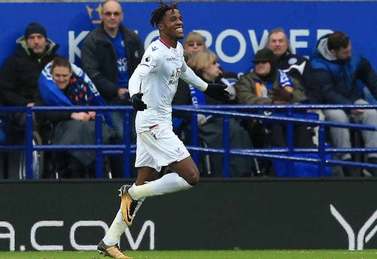 Wilfried Zaha: No plan to leave Crystal Palace