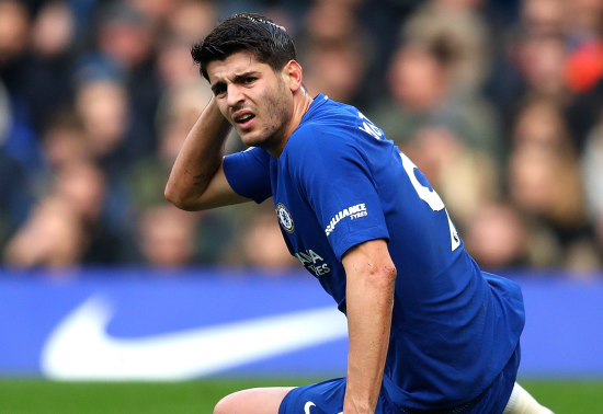 Alvaro Morata Injured