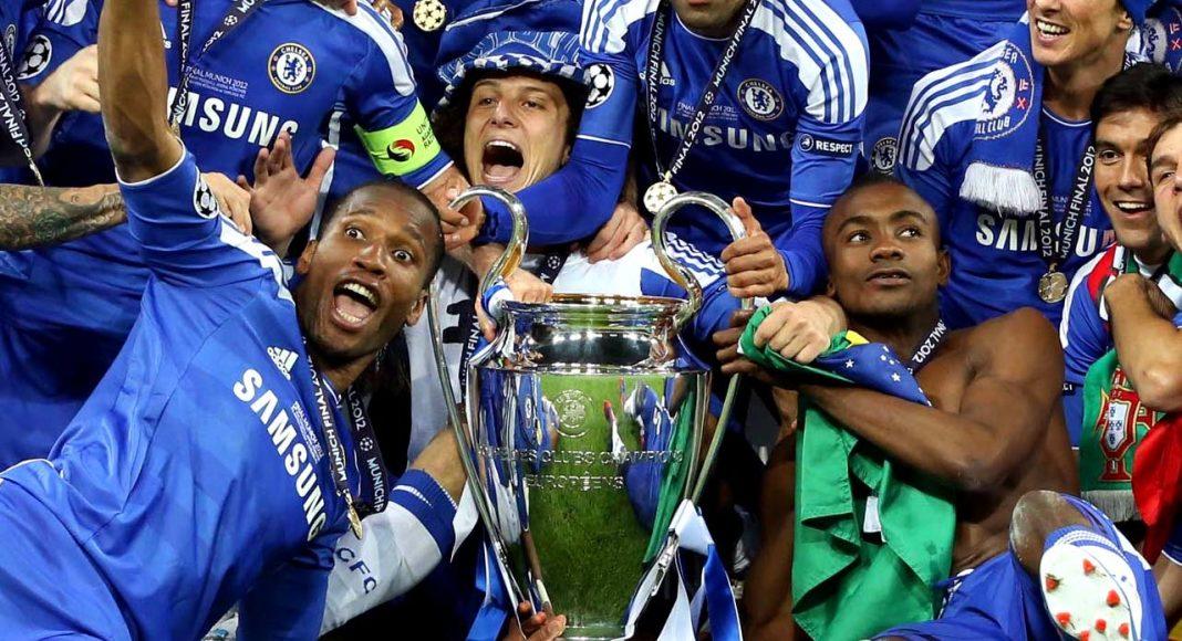 Champions League Win 2012