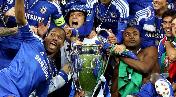 Champions League Win 2012