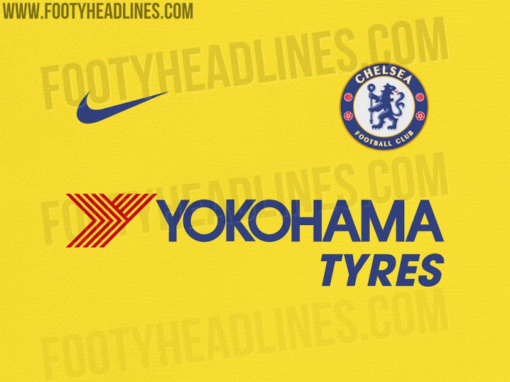 Chelsea Yellow Kit