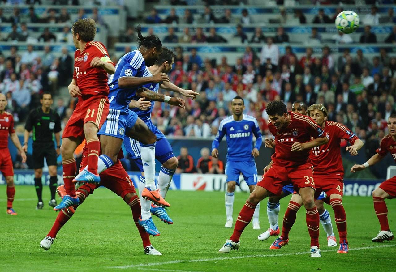Didier Drogba Munich 2012