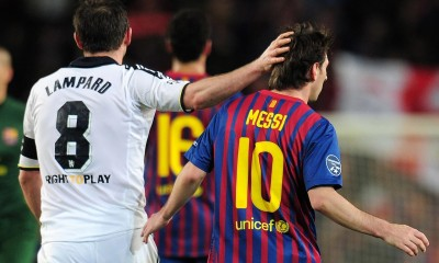 Frank Lampard and Lionel Messi