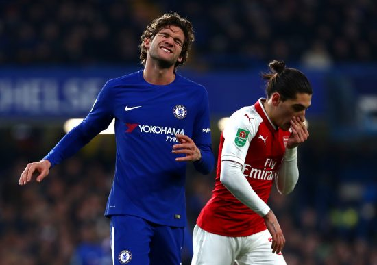 Chelsea V Arsenal Carabao Cup Semi Final: First Leg