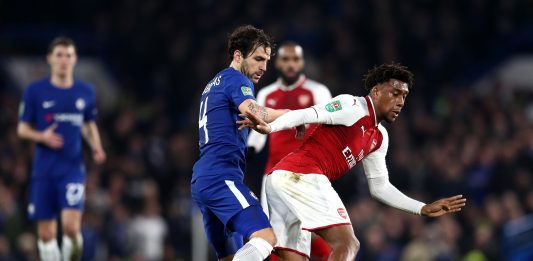 Fabregas Chelsea Arsenal