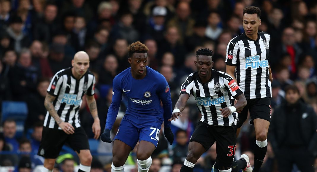 Chelsea V Newcastle United The Emirates Fa Cup Fourth Round