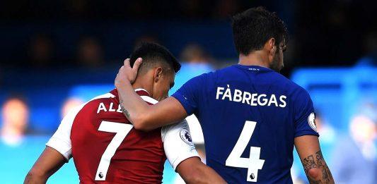 Cesc Fabregas And Alexis Sanchez