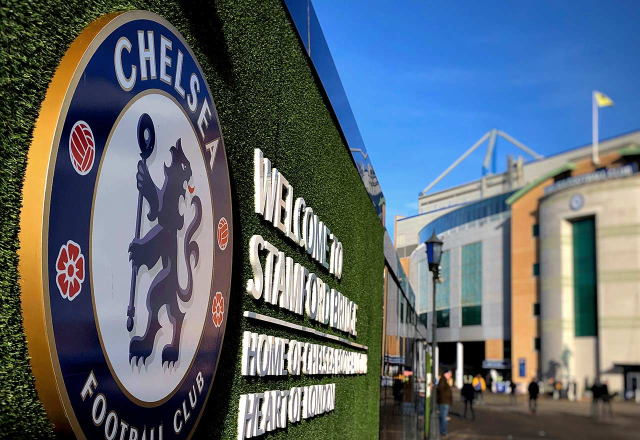 Outside Stamford Bridge