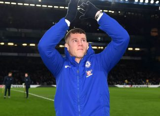 Ross Barkley at Stamford Bridge