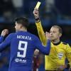 Alvaro Morata Yellow