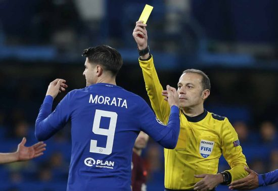 Alvaro Morata Yellow