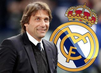 Antonio Conte Real Madrid