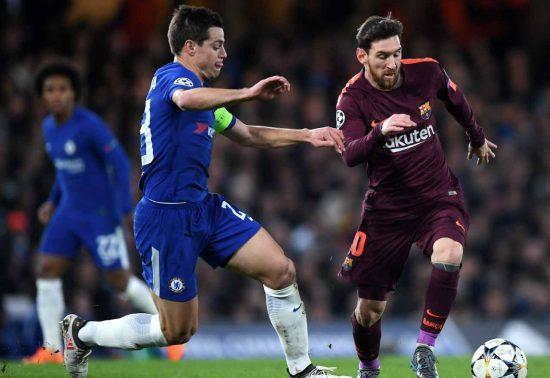 Cesar Azpilicueta Lionel Messi
