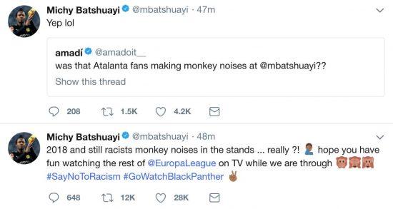 Michy Batshuayi Twitter