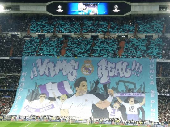 Real Madrid Banner