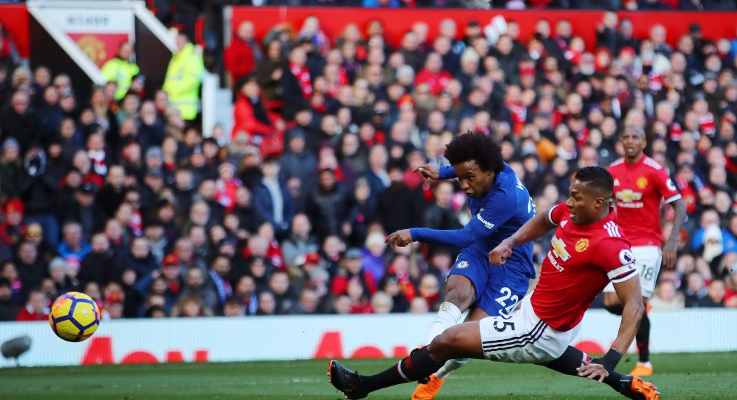 Manchester United Reportedly Eyeing £60M Bid for Chelsea's Willian