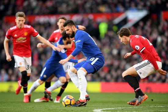 Chelsea Giroud Man United