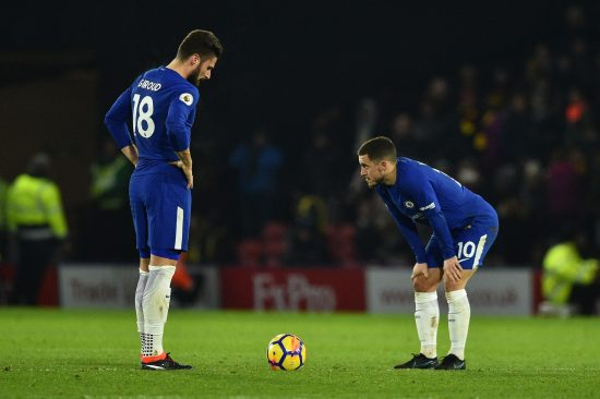 Antonio Conte responds to questions over Chelsea future following loss to Watford