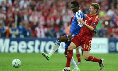 Chelsea's Nigerian Midfielder John Obi M