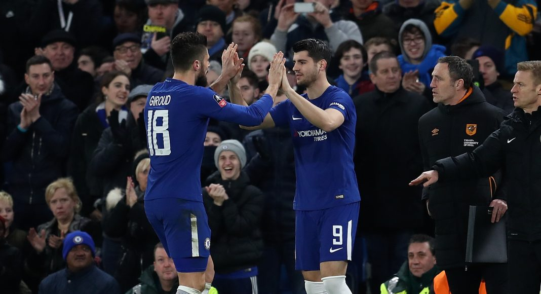 Olivier Giroud says he should have more Chelsea goals