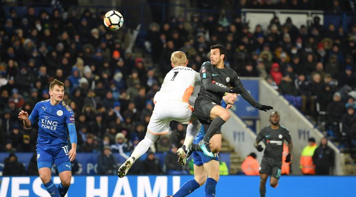 (Video) Pedro flicks in go-ahead goal for Chelsea against Leicester City