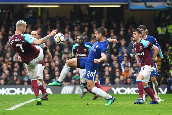 Chelsea V West Ham United Premier League