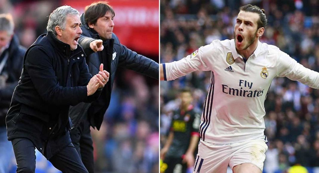 Conte Mourinho Bale