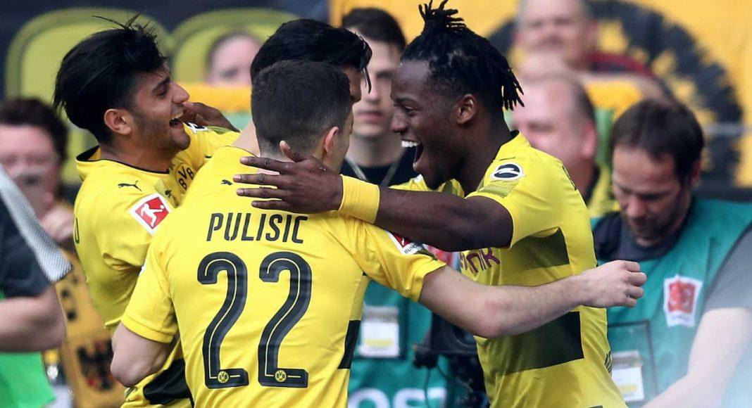 Bundlesliga round-up: Michy Batshuayi scores as Borussia Dortmund beat Stuttgart