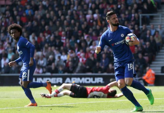 Southampton (A) — Chelsea player ratings