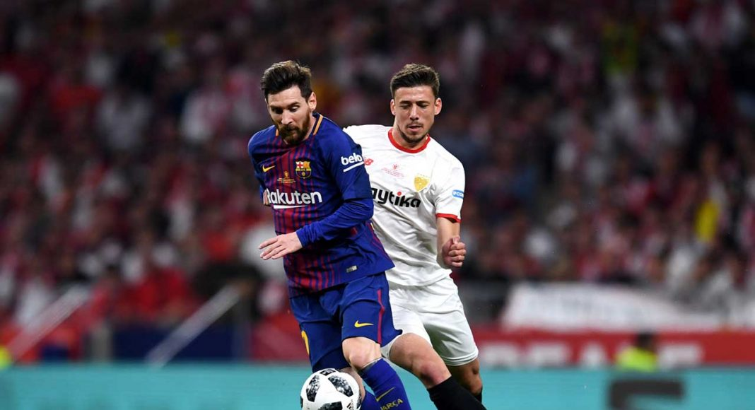 Lionel Messi Clement Lenglet