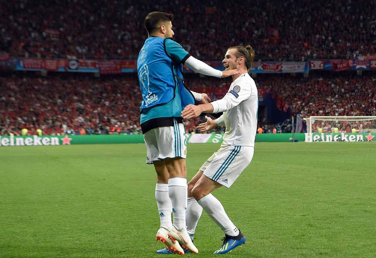 Marco Asensio Gareth Bale