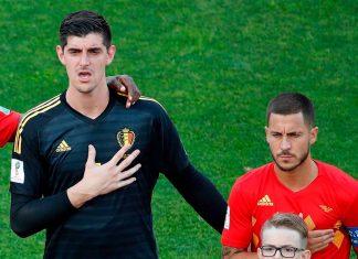 Thibaut Courtois Eden Hazard
