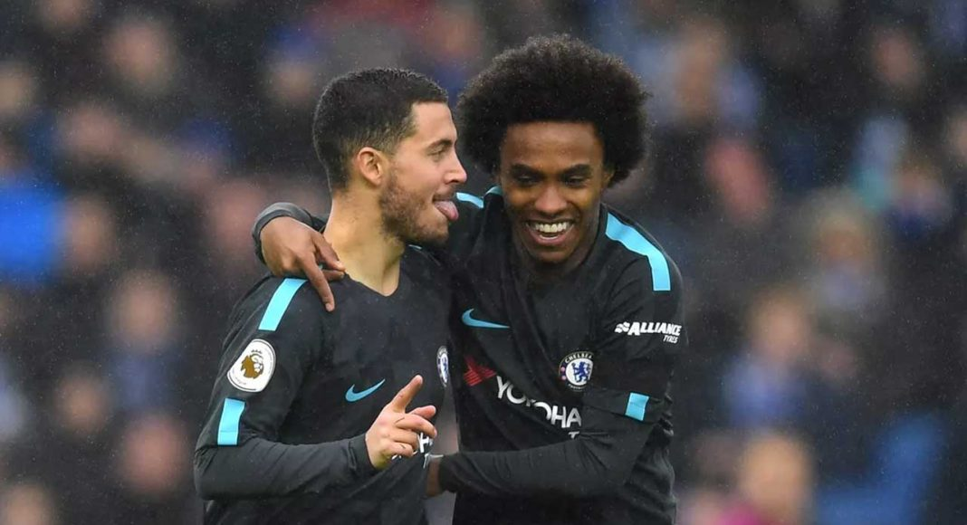 Eden Hazard Willian