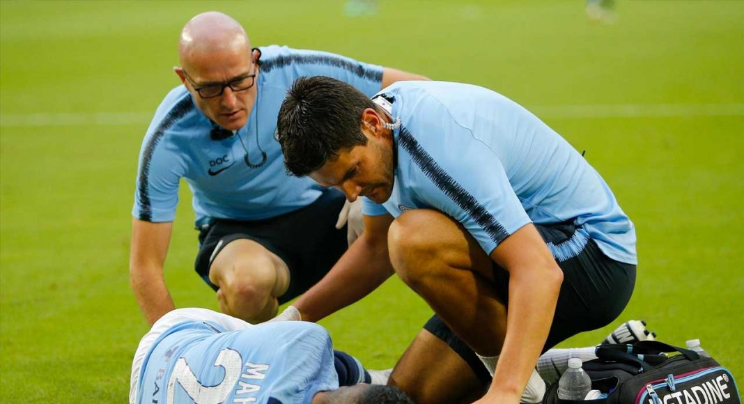 Mahrez Injury