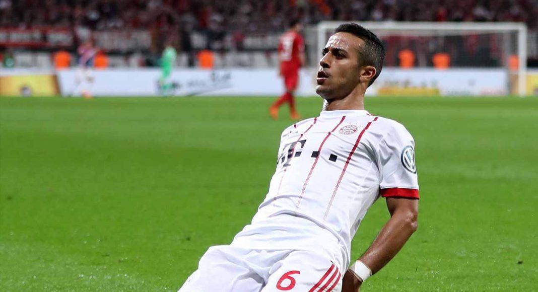 Man Utd, Chelsea ask Bayern Munich to name Thiago Alcantara price