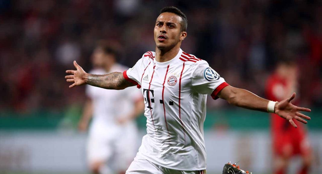 Thiago Alcantara Puts Success Down to Coach Carlo ...