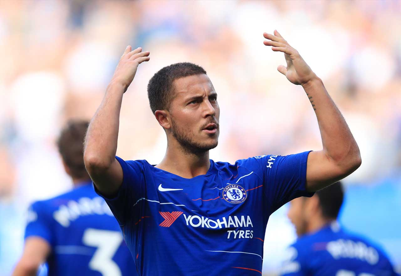 Chelsea 4-1 Cardiff Player Ratings: Hat-trick Hero Hazard