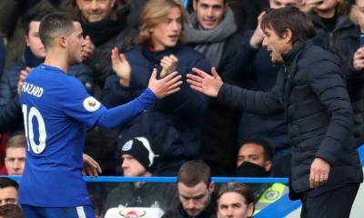Eden Hazard Antonio Conte