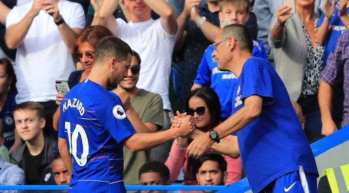 Maurizio Sarri insists superstar is staying at Chelsea… but not as a winger