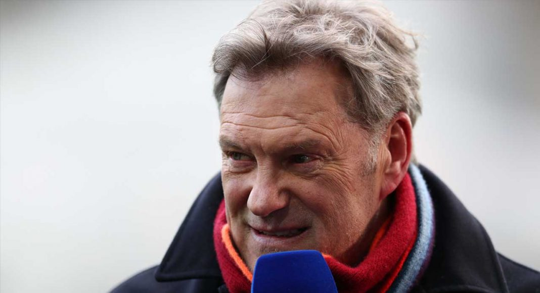 Former England football manager Glenn Hoddle 'collapses' at BT studios