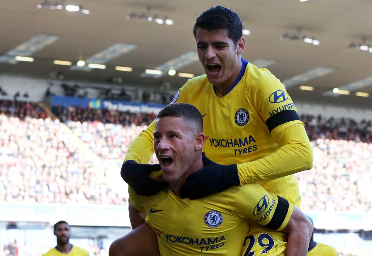 Ross Barkley Alvaro Morata