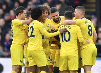 Chelsea Celebrating