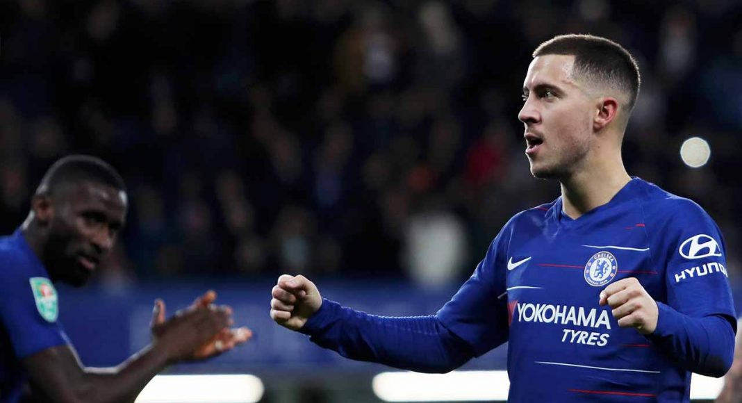 Chelsea No2 Zola hails matchwinner Hazard: He always makes difference