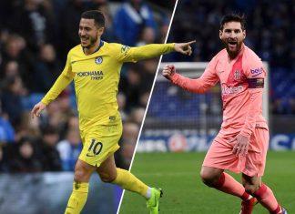 Hazard Messi