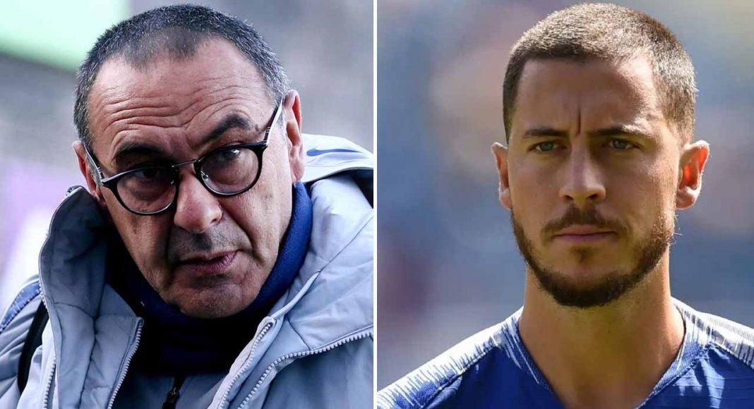 Maurizio Sarri Eden Hazard