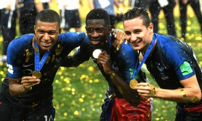 Mbappe Dembele Thauvin